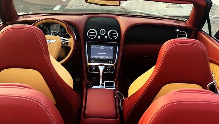 Bentley Continental GT Price-in-Dubai