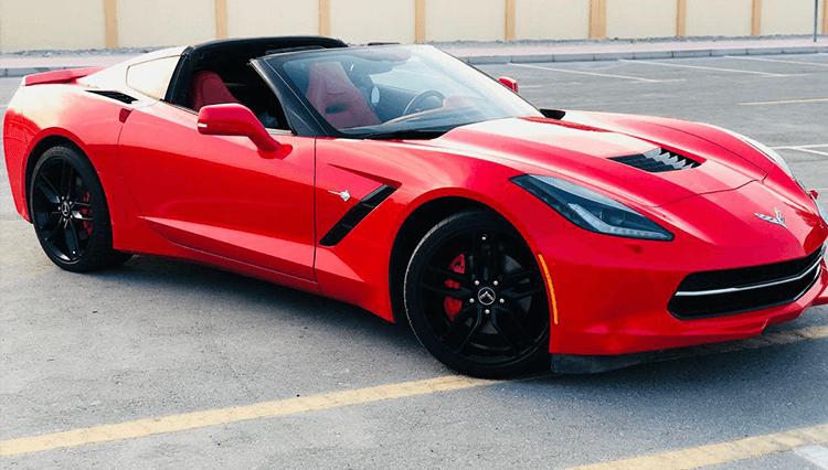 Rent Chevrolet Corvette in Dubai