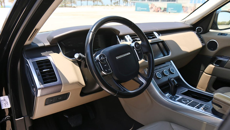 rent range rover sport in dubai