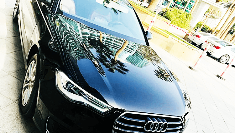 audi a6 rental in dubai