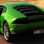 Lamborghini Huracan Green 2018 Hire in Dubai
