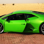 Rent Lamborghini Huracan 2018 Green in Dubai