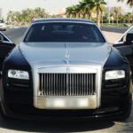 Rent Rolls Royce Ghost in Dubai