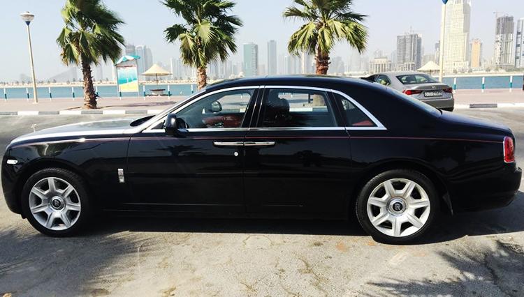 Rolls Royce Ghost Hire Dubai