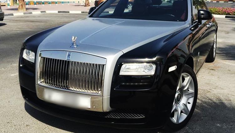 Rolls Royce Ghost Rental Dubai