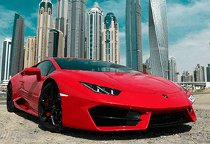 rent a sports car dubai